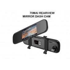 70mai Rearview Mirror Dash Cam Araç içi Kamerası Eng Version 1600P HD 70 Mai DVR Camera 24H
