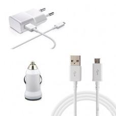 Araç Çakmaklık USB 3 İN 1 Takım Şarj Başlık