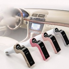 Car G-7 Bluetooth Araç FM Transmitter Usb Girişli