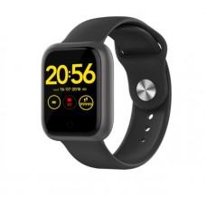 GT1 Akıllı Saat Su Geçirmez 2.5D Ekran Kalp Hız Spor Modu -2020