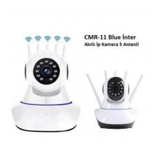 CMR11 Wi-Fi Kablosuz IP Bebek Güvenlik Kamerası 5 Antenli
