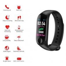 M3 Renkli Ekran Nabız Ölçer Adım Sayar Akıllı Bileklik Saat