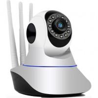 CMR 5 Kablosuz Wifi Ip Kamera 1080P Full Hd 3 Mp Hareketli Kamera Gece Görüşlü Beyaz