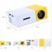 Taşınabilir Mini LED Projeksiyon Cihazı Ev Sineması