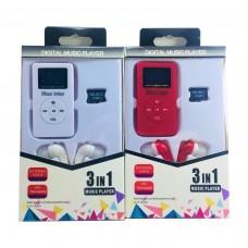 Mini Mp3 Çalar SD Kart Kulaklık Set