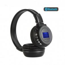 İNT-75 Wireless  Kulaklık LCD Ekran Ile TF MP3 Çalar Kablosuz kulaklık
