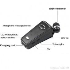 AKZ-05 mini kulaklık teleskopik iş araba müzik Bluetooth yaka tek kulak spor evrensel