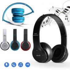 P47 Katlanabilir Bluetooth Kulaküstü Kablosuz Kulaklık