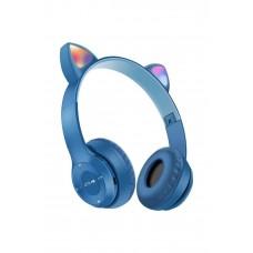 İNT P47M Bluetooth Cat Kablosuz Kulaküstü Katlanabilir Kedi Kulaklık