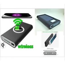 Wireless Kablosuz 10000 mAH GÜNEŞ ENERJİLİ SOLAR POWERBANK İ-020