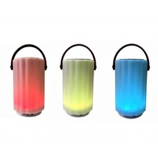 JBJ-013 Wireless Speaker Renkli Işıklı Bluetooh Hoparlör Büyük Boy